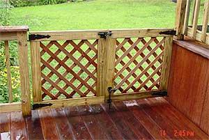 best finish carpentry decks